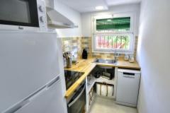 Apartament El Forn Cocina