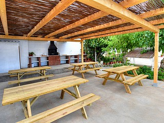 BARBECUE AND DINING AREA