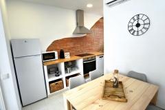 Apartament La Cort Cocina